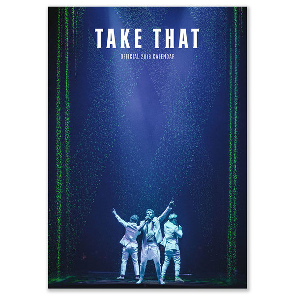 takethat: Take That 2018 Calendar