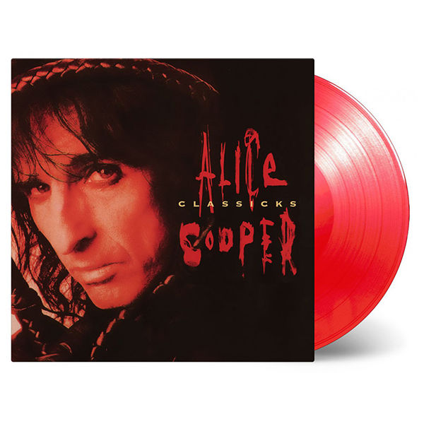 Alice Cooper: Classicks: Limited Edition Red Coloured Vinyl