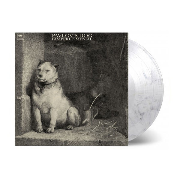 Pavlov's Dog: Pampered Menial: Limited Edition Transparent & Black Marbled Vinyl