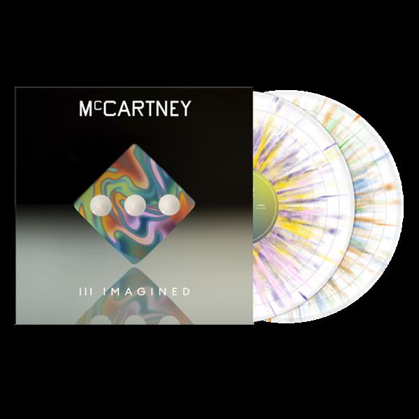 Paul McCartney: McCartney III Imagined - Limited Edition Exclusive Splatter 2LP