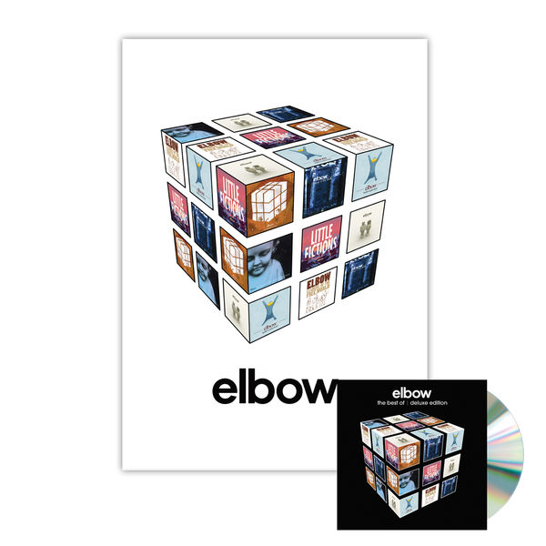 Elbow: The Best Of...Deluxe 2 CD & Cubic Print