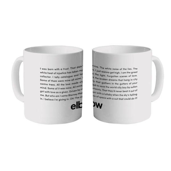 Elbow: White Noise White Heat Mug