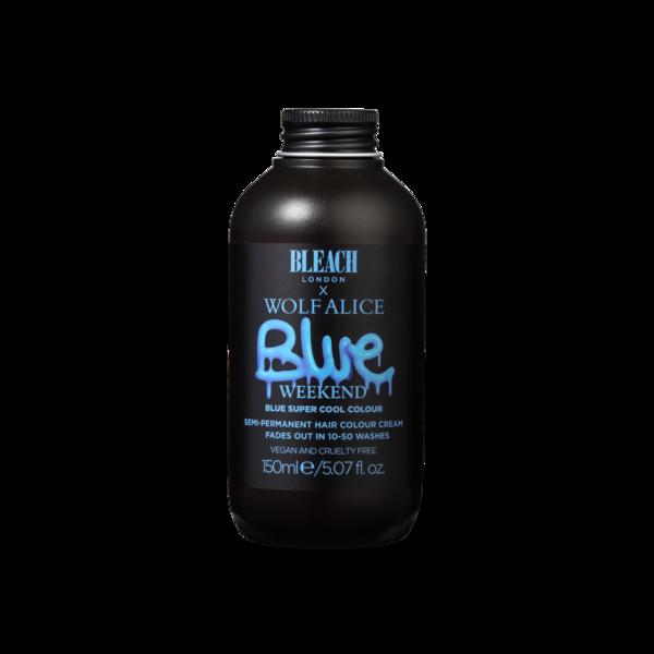 Wolf Alice: Wolf Alice x Bleach London Blue Weekend Hair Dye