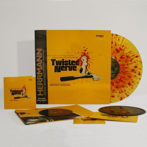 Bernard Herrmann: Twisted Nerve: Yellow Super Deluxe Edition