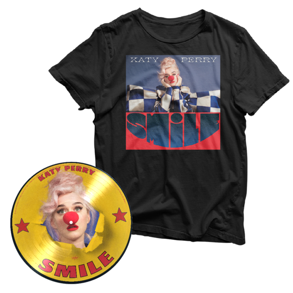 Katy Perry: Exclusive Pic Disc & Tee