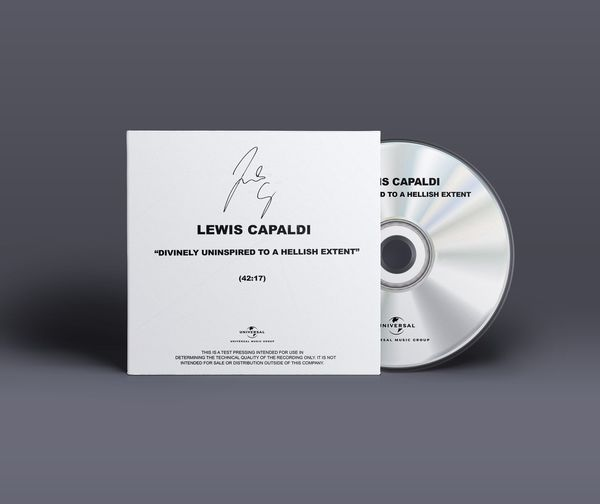 Lewis Capaldi: Limited Signed 'Divinely Uninspired To A Hellish Extent' - Test pressing CD (re-issue)