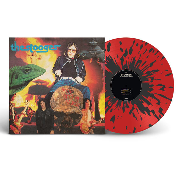 The Stooges: My Girl Hates My Heroin: Limited Edition Red + Black Splatter Vinyl