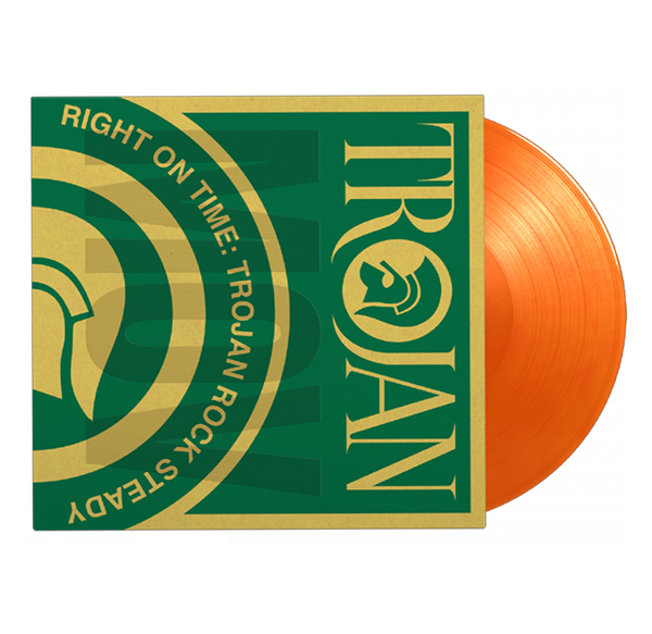 Various Artists: Right On Time - Trojan Rock Steady: Limited Edition Orange Vinyl