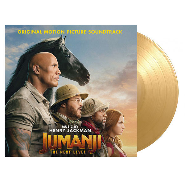 Original Soundtrack: Jumanji - The Next Level: Limited Edition Gatefold Dessert Sand Vinyl