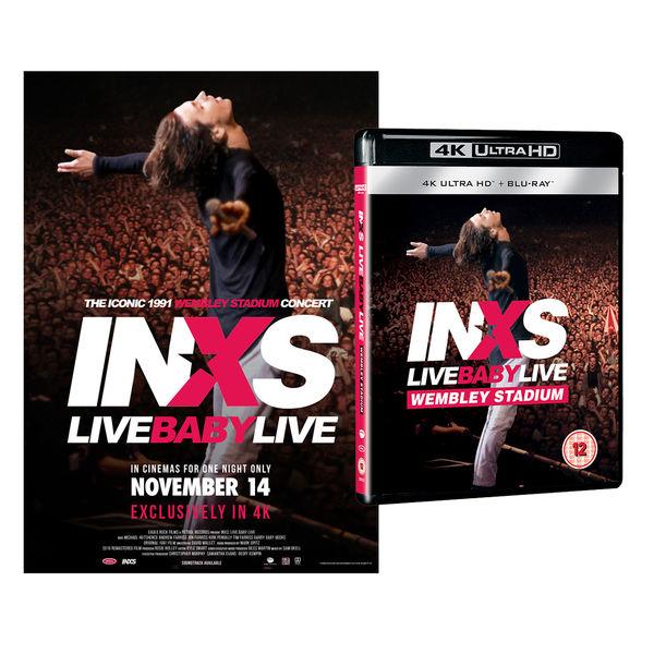 INXS: Live Baby Live: 4K UHD Blu-Ray + Print Bundle