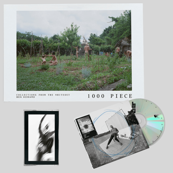 Ben Howard: COLLECTIONS FROM THE WHITEOUT: CD, CASSETTE + 'The Farmers' Jigsaw Puzzle