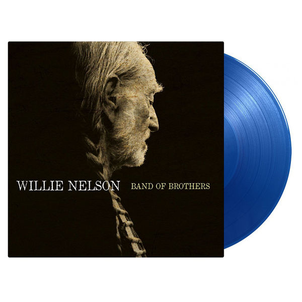 Willie Nelson: Band Of Brothers: Limited Edition Transparent Blue Vinyl