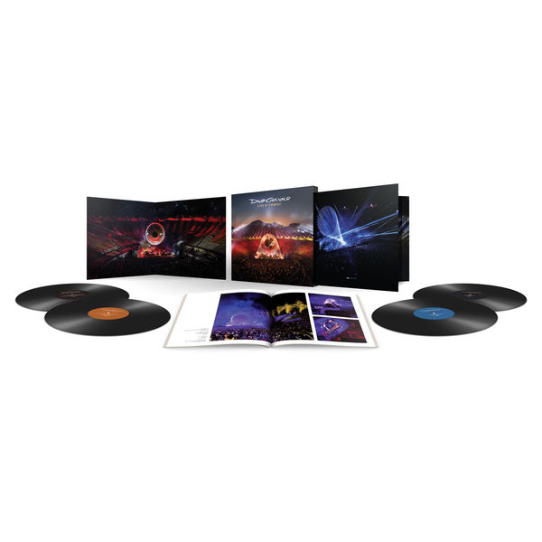 David Gilmour: Live At Pompeii: Deluxe Vinyl Boxset