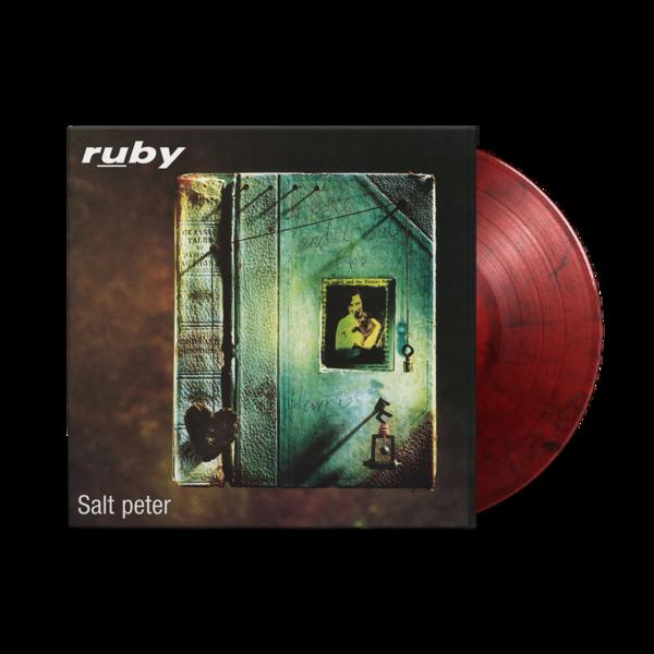 Ruby: Salt Peter: Limited Edition Red + Black Swirl Vinyl LP