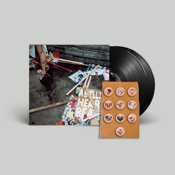 Mystery Jets: Double LP + Pin Badges