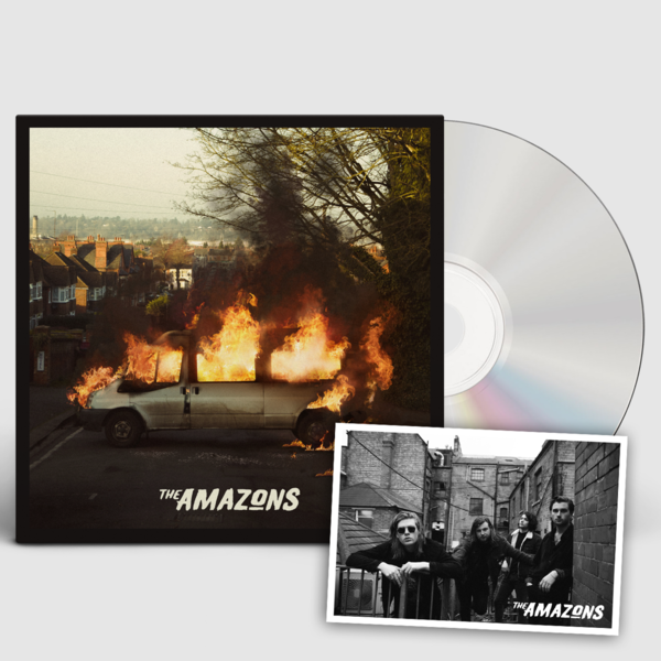 The Amazons: The Amazons Signed CD & Print Bundle