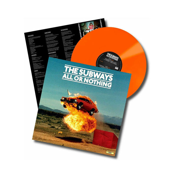 The Subways: All Or Nothing: Limited Edition Orange Vinyl
