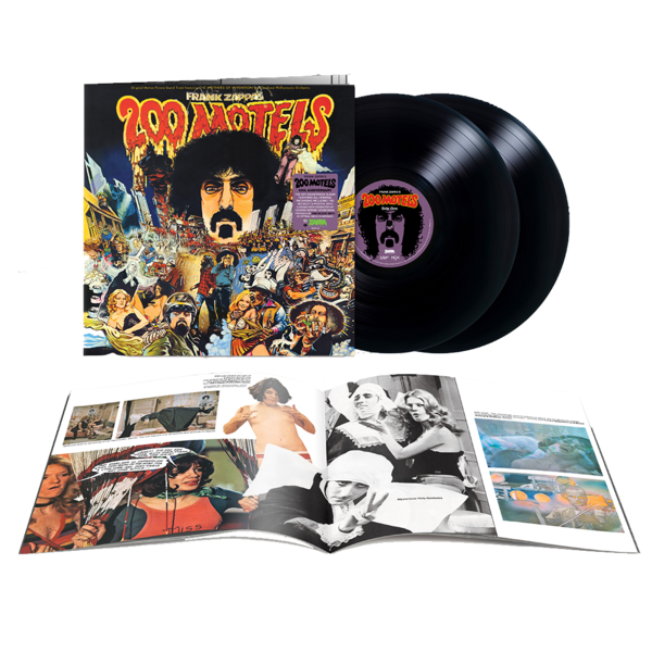 "Frank Zappa: ""200 Motels"" Original Soundtrack: Limited Edition Double Vinyl"