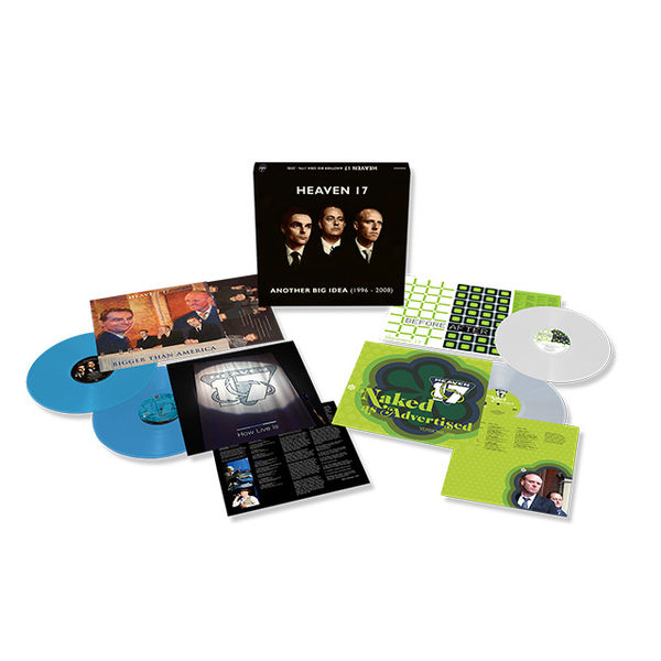 Heaven 17: Another Big Idea: 1996-2008: Limited Edition Colour Vinyl Box Set