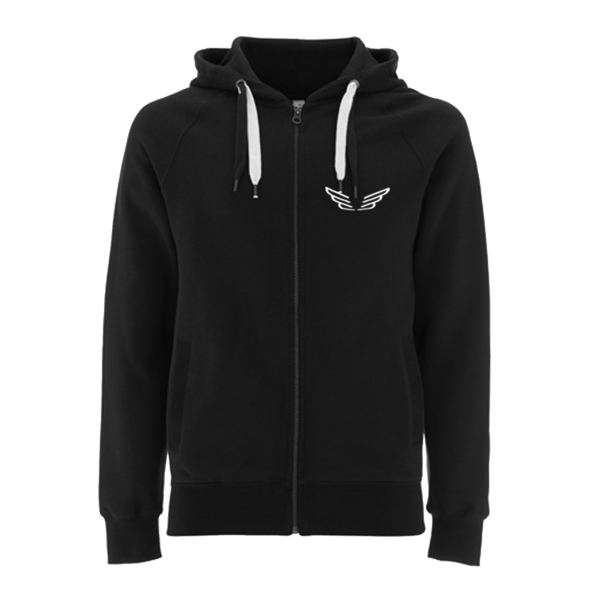 Mumford & Sons : Wings Logo Zip Hoodie