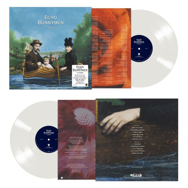 Echo & The Bunnymen: Flowers: Limited Edition 180g White Vinyl