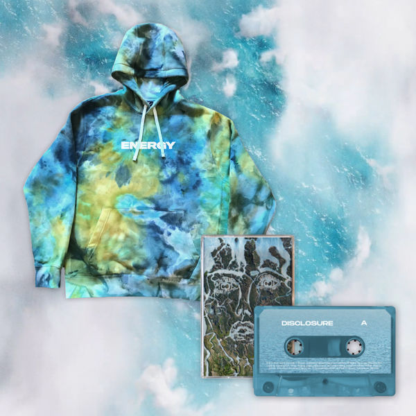 Disclosure: LIMITED EDITION TIE DYE HOODIE + CASSETTE
