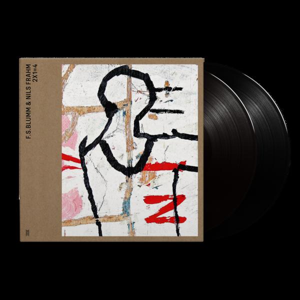 F.S.Blumm & Nils Frahm: 2X1=4: Black Vinyl 2LP