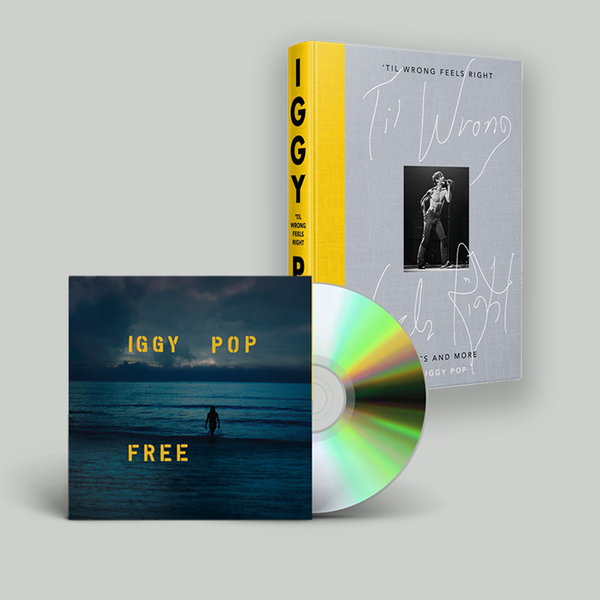 Iggy Pop: Free, 'Til Wrong Feels Right: Exclusive Compact Bundle