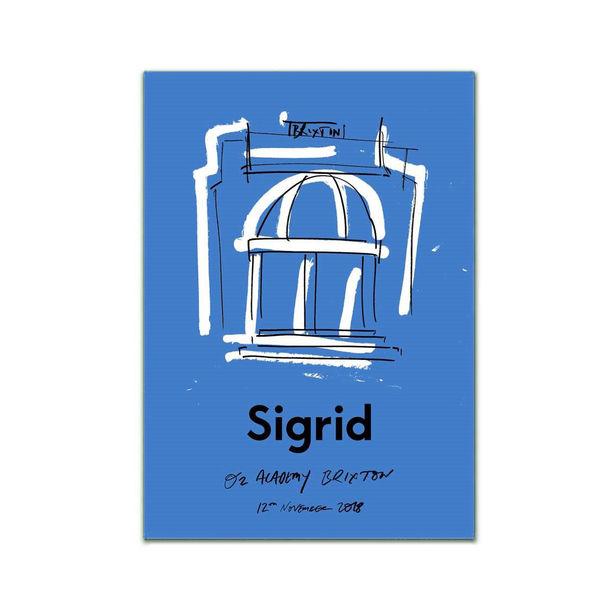 Sigrid: Brixton Print