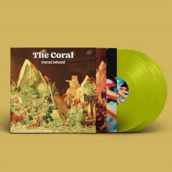 The Coral: Coral Island: Limited Edition Translucent Lime Vinyl