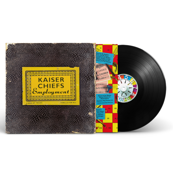 Kaiser Chiefs: Employment: Heavyweight Vinyl Reissue