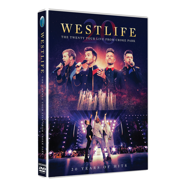 Westlife: THE TWENTY TOUR LIVE FROM CROKE PARK DVD