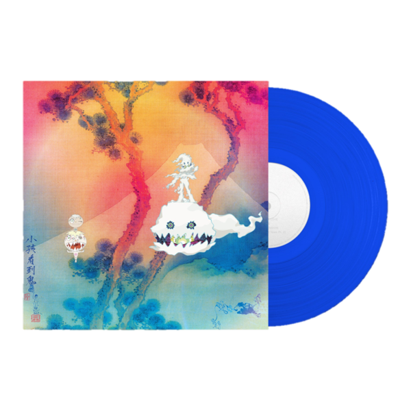 Kanye West and Kid Cudi: Kids See Ghosts: Limited Edition Blue Vinyl LP
