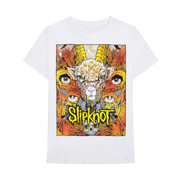 Slipknot: Gold Foil Goat T-shirt
