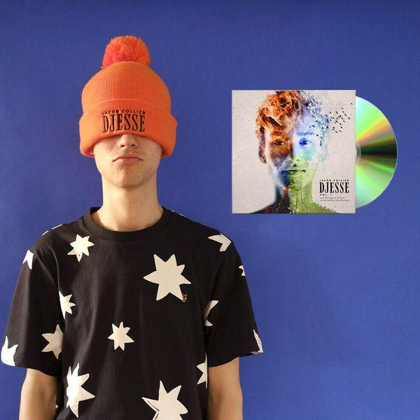 Jacob Collier: Djesse Vol.1 CD & Orange Beanie Bundle
