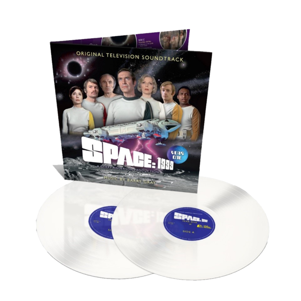 Original Soundtrack: SPACE: 1999 – YEAR ONE: Limited Edition Luna White Vinyl 2LP