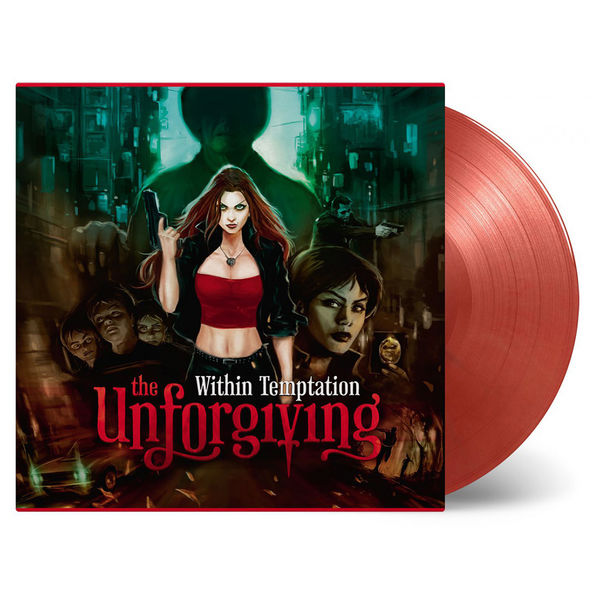 Within Temptation: Unforgiving (Expanded): Limited Edition Gold and Red Swirl Vinyl