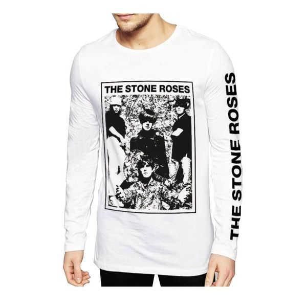 The Stone Roses: Vintage Picture Long Sleeve T-Shirt