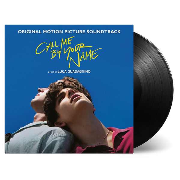 Various Artists: Call Me By Your Name Original Soundtrack: Black Vinyl Reissue