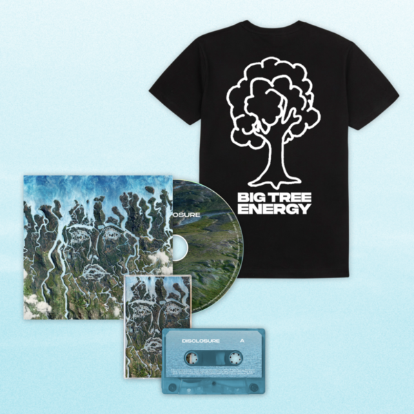 Disclosure: CD, Cassette + Big Tree Energy Black Tee
