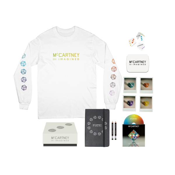 Paul McCartney: Paul McCartney - McCartney III Imagined - Limited Edition Box Set + White Longsleeve