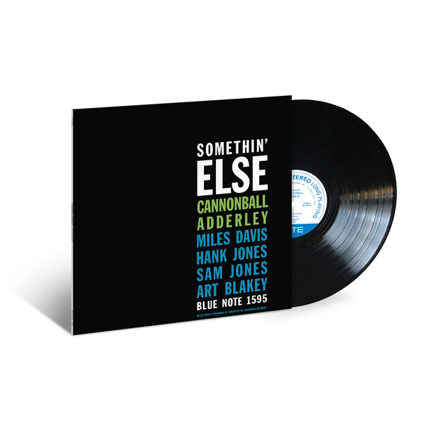 Cannonball Adderley: Somethin' Else LP (Blue Note Classic Vinyl Edition)