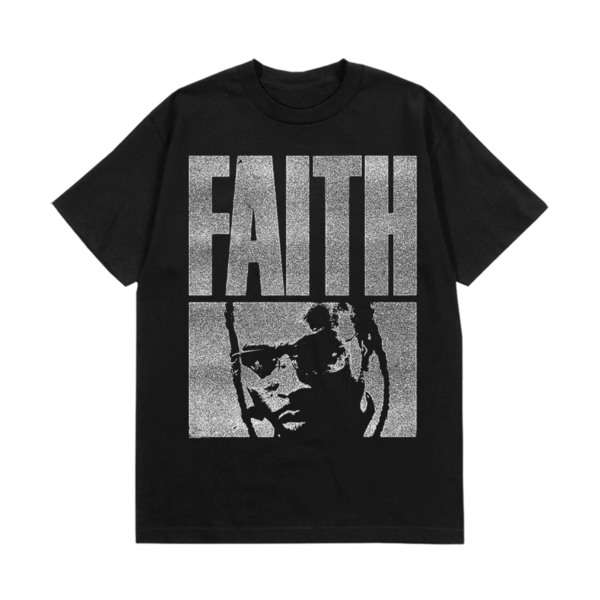 Pop Smoke: FAITH GRAIN T-SHIRT