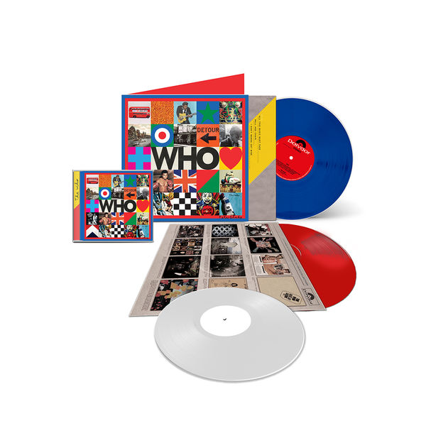 The Who: WHO Deluxe Audio Set