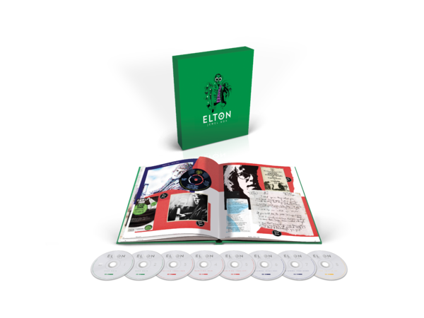 Elton John: Jewel Box 8CD Boxset