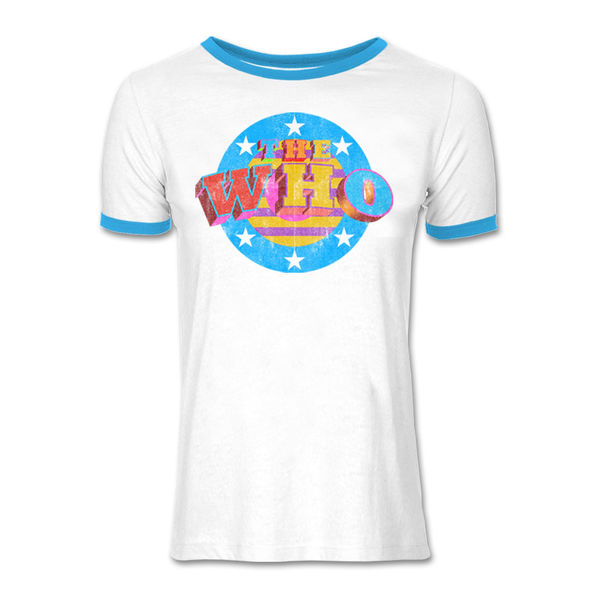 The Who: Star Target Ringer T-Shirt