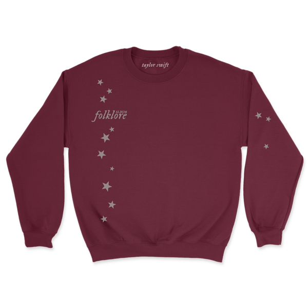 "Taylor Swift: the ""you drew stars around my scars"" pullover"