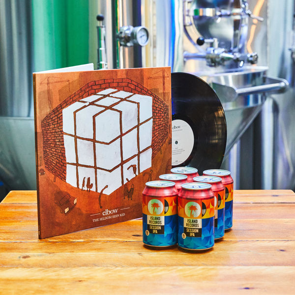 Elbow: The Seldom Seen Kid Vinyl + Island Records Session IPA 6 pack
