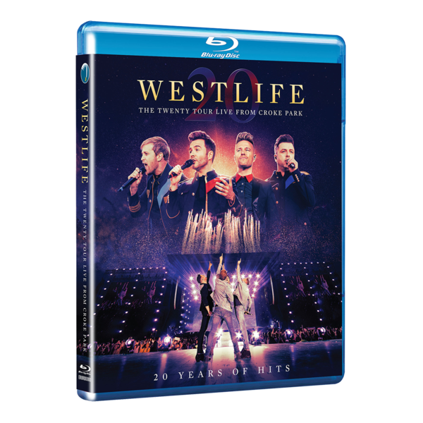 Westlife: THE TWENTY TOUR LIVE FROM CROKE PARK BLU-RAY HD