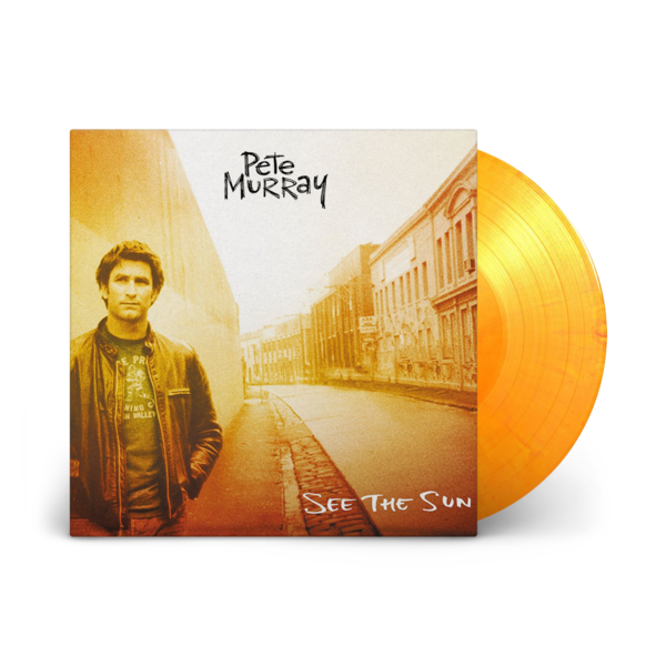 Pete Murray: See The Sun: Exclusive Flaming Sun Vinyl LP + Signed Art Card